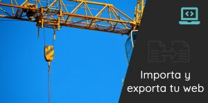 importa exporta web