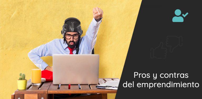 pros contra emprendimiento