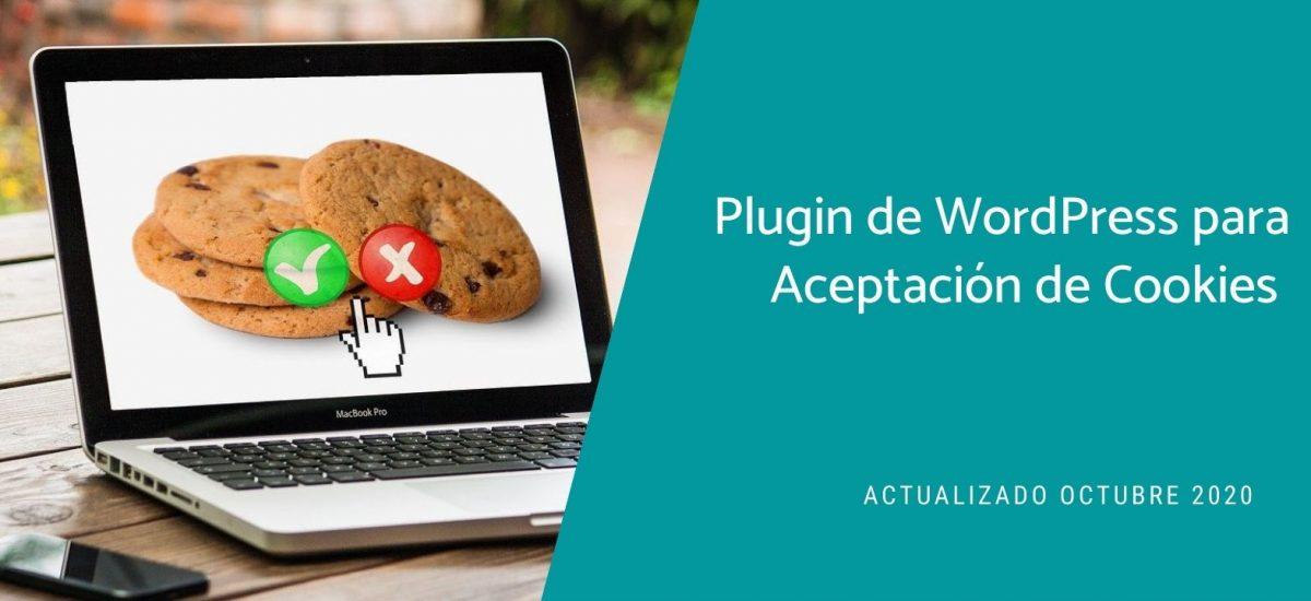El mejor plugin para configurar Cookies en WordPress. Actualizado a los últimos cambios RGPD